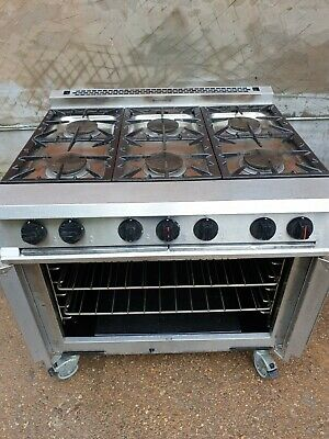 Falcon Dominator 6 Gas Burner Cooker Range Oven Ready To Go Delivery Available  • 799£