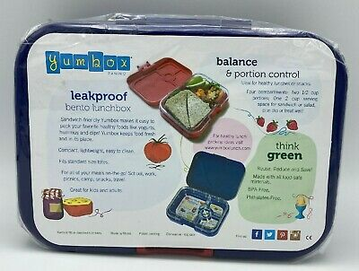 AU26.08 • Buy Yumbox Leakproof Bento Lunch Box Container Fuchsia Purple - BPA Free - NEW