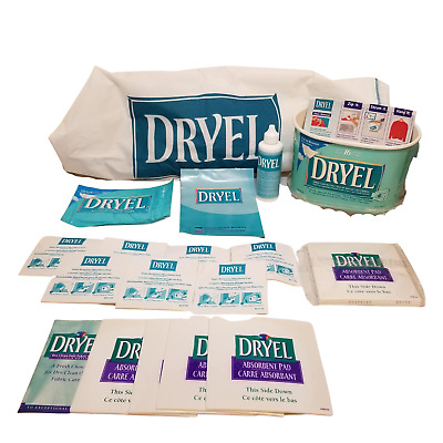Dryel Dry Cleaning Partial Kit Stain Remover @ Home Spot Remover Pad Bag WYSIWYG • 15.47£