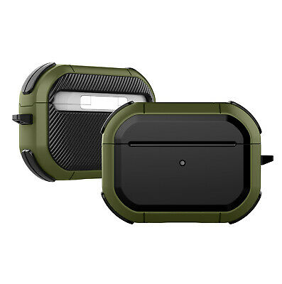 $ CDN6.29 • Buy For Apple AirPods Pro 2 1 Rugged Armor Shockproof Case TPU PC Hybrid Cover Skin