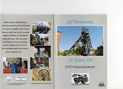 Alf Molyneux  10 Years On  FromFred Dibnah DVD + Signed Photo • 6.75£
