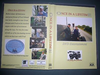 Alf Molyneux DVD,  Once In A Lifetime  With Fred Dibnah + Signed Photo • 6.75£