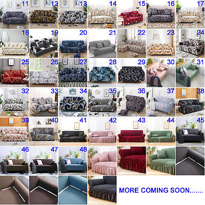 AU12.99 • Buy Stretch Fit Sofa Cover Lounge Couch Slipcover Recliner Protector 1/2/3/4 Seaters