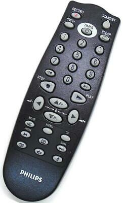 £9.50 • Buy Genuine Philips RT770/101 TV/Video Combi Remote For 14PV172/01 14PV182 14PV274