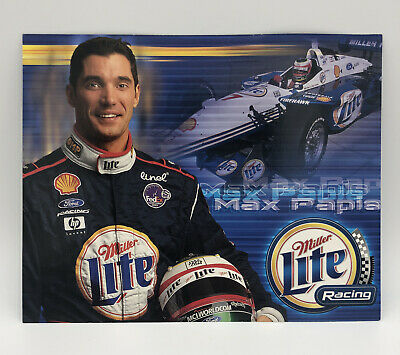 $7.59 • Buy Max Papis 2001 Miller Lite Ford Racing Promotional Picture Card 10  X 8
