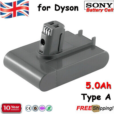 5000mAh Battery For Dyson Type A Replace 22.2v DC31 DC34 DC35 DC44 DC45 Animal • 24.99£