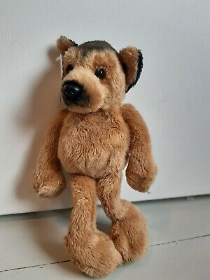 German Shepherd Soft Toy, Long Legged With Magnets.  • 1.99£