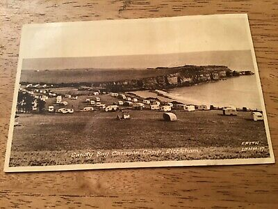 Vintage Postcard 1957 Sandy Bay Caravan Camp Littleham Exmouth Devon Frith & Co  • 0.99£
