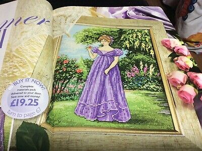 Summer Lady Cross Stitch Chart L@@K (COLL 57) • 1.60£