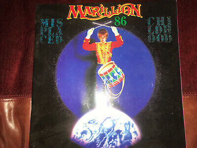 Marillion Misplaced Childhood Tour1986 Supporting Programme Fish • 15£