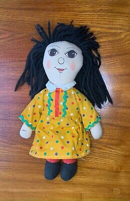 Rosie Doll Vintage 1993 Rag Doll 11'' From The Rosie And Jim Tv Series • 4.99£