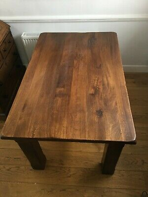 £225 • Buy Solid Mango Dining Table With Matching Chairs