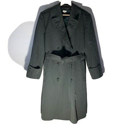 $49.99 • Buy Vintage Military Trench Coat Jacket Removeable Liner Army US Men 38 R Green Rain