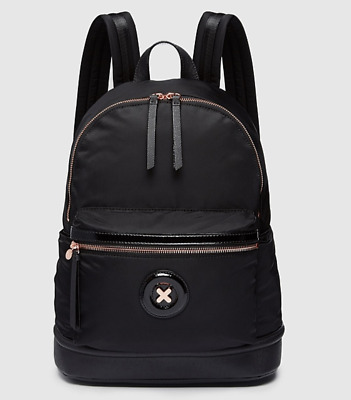 AU109.95 • Buy Mimco Daydream Zip Backpack Black Rose Gold Authentic BNWT RRP$199