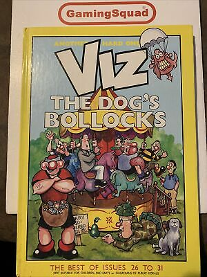 £4.50 • Buy Viz The Dogs Bollocks HB Book, Supplied By Gaming Squad
