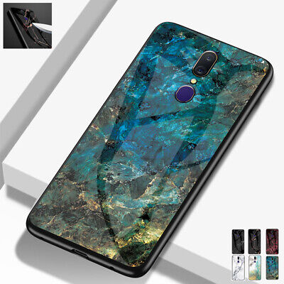 AU14.56 • Buy For OPPO A73 R17 A52 A91 AX5 Reno 5G Shockproof Tempered Glass Hybrid Case Cover