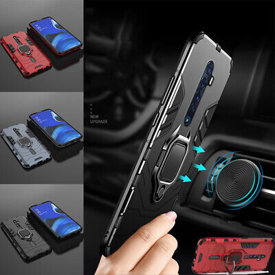 AU14.89 • Buy For OPPO RenoZ 2Z AX5 R11 R17 A9 Magnetic Ring Holder Rugged Hybrid Case Cover
