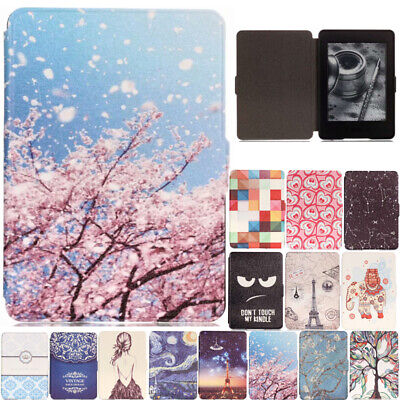 AU16.89 • Buy For Amazon Kindle Paperwhite 1 2 3 Smart Painted Flip Leather Stand Case Cover