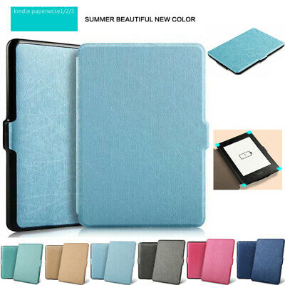 AU16.89 • Buy For Amazon Kindle Paperwhite 1 2 3 Smart Flip Silk Leather Stand Case Cover