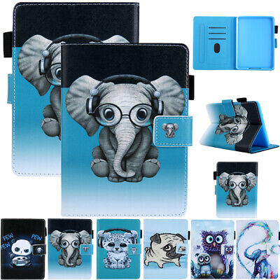 AU20.89 • Buy For New Kindle Paperwhite 10th Gen 2018 Magnet Painting Flip Leather Case Cover