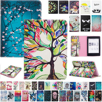 AU14.28 • Buy For New Kindle Paperwhite 10th Gen 2018 Magnet Painting Flip Leather Case Cover