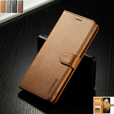 AU12.18 • Buy For Samsung S21 S20FE A31 A51 Magnetic Flip Leather Wallet Stand Card Case Cover