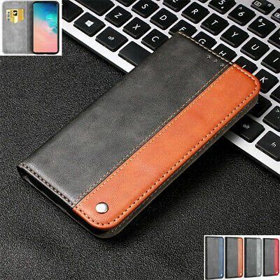 AU14.89 • Buy For Samsung S7 S10 S20FE A21s A42 Magnetic Flip Leather Wallet Stand Case Cover