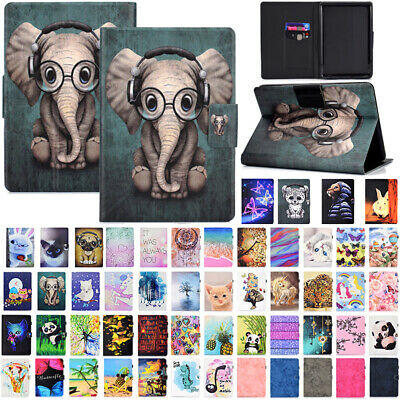 AU17.89 • Buy For New Kindle Paperwhite 10th Gen 2018 Magnetic Painted Flip Leather Case Cover