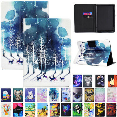 AU17.89 • Buy For New Kindle Paperwhite 2018 6  10th Gen Smart Patterned Leather Case Cover