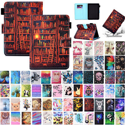 AU17.89 • Buy For New Kindle Paperwhite 10th Gen 2018 Smart Patterned Flip Leather Case Cover
