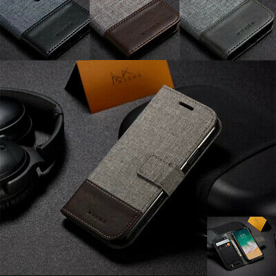 AU14.39 • Buy Magnetic Flip Canvas Wallet Stand Case Cover For Sony Xperia XA Ultra / XZ L1