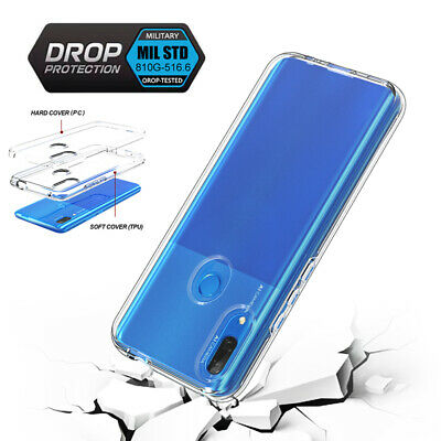 AU14.89 • Buy For Huawei Y9 Prime (2019) Y5 Shockproof Silicone Clear Hybrid Hard Case Cover