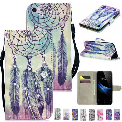 AU13.68 • Buy For OPPO A52 A3s AX5 A5 A9 2020 Pattern Magnetic Leather Wallet Stand Case Cover