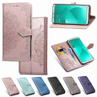 AU14.88 • Buy For OPPO A83 A73 F7 R17 A3 A7 Magnetic Flip Leather Card Wallet Stand Case Cover