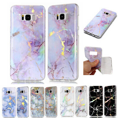 AU13.89 • Buy For Galaxy S5 S9+J8 2018 Bling Plating Soft Silicone Ultra Slim Back Case Cover