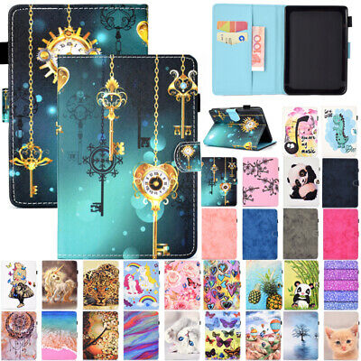 AU17.89 • Buy For Amazon Kindle Paperwhite 10th Gen 2018 Painted Smart Leather Flip Case Cover