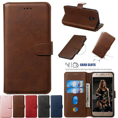 AU14.88 • Buy For Samsung Galaxy J1 J3 J5 J6 J8 Luxury Leather Magnetic Wallet Card Case Cover
