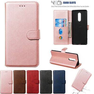 AU14.89 • Buy For Sony Xperia XZ 1 2 3 4 Luxury Flip Leather Magnetic Wallet Card Case Cover