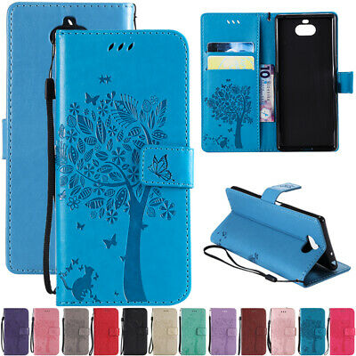 AU14.89 • Buy For Sony Xperia Z3 Z5 XZ XA2 Flip Leather Magnetic Wallet Card Slots Case Cover