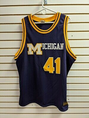 $84.99 • Buy Majestic Authentic Throwback College Jersey Michigan Glen Rice Sz 2XL
