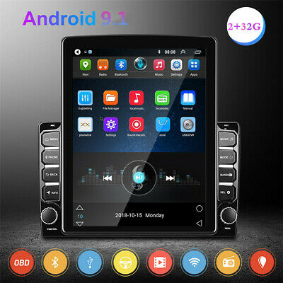 £135.80 • Buy 9.7in 2Din Android 9.1 Car Stereo Radio MP5 Player Sat Nav GPS Bluetooth WIFI FM