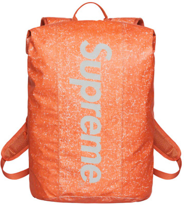 $ CDN253.59 • Buy Supreme Waterproof Reflective Speckled Backpack FW20 Orange NEW IN HAND