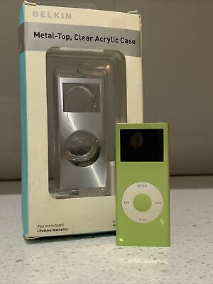 £91.29 • Buy Official Apple IPod Nano 2nd Generation  4GB Green With Brand New Belkin Case