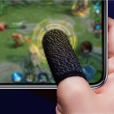 AU6.37 • Buy 20Pcs Screen Gaming Finger Sleeve Mobile Game Controller Sweatproof Gloves Acc