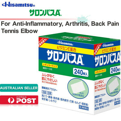 AU61.69 • Buy Hisamitsu SALONPAS Ae 240sheets Pain Relief Patch Topical Analgesic Au Stock日本久光