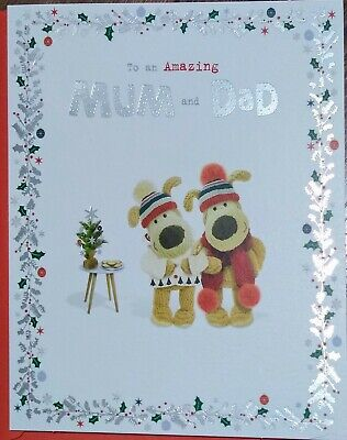 £2.65 • Buy   MUM And DAD    Cute Boofle Christmas Card - See Photos