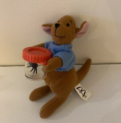 Mcdonalds Vintage Winnie The Pooh Roo Plush With Spider 2002 • 3.75£