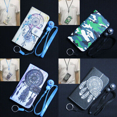 AU9.62 • Buy Camouflage Dream Catcher Wallet Slots Flip Case Cover For Iphone OPPO Lenovo