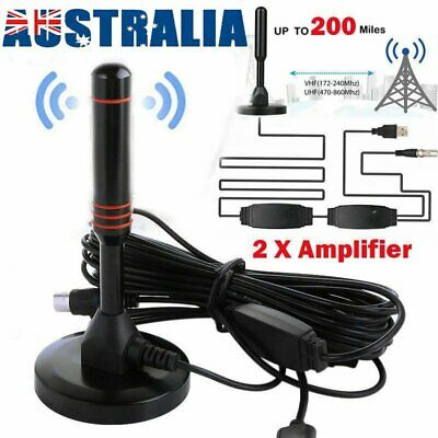 AU17.80 • Buy Portable TV Antenna Indoor Outdoor Digital HD Freeview Aerial HDTV High Gain