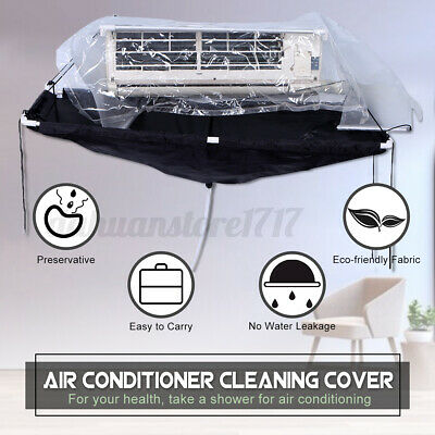 AU76.41 • Buy Cleaning Bag Wash Cover Air Conditioner Wall Mounted Waterproof Protector Kit